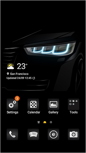 Galaxy Themes Apps Services Samsung Levant