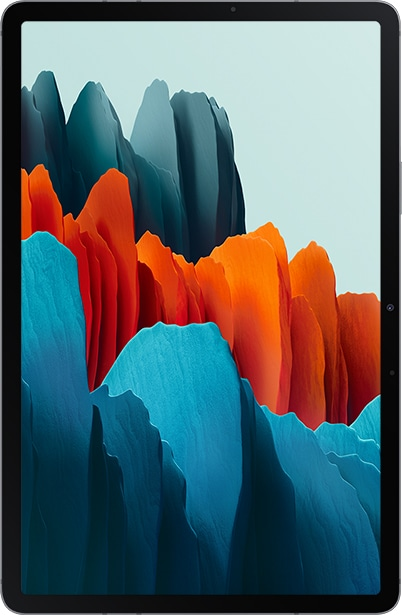 Front view of Galaxy Tab S7