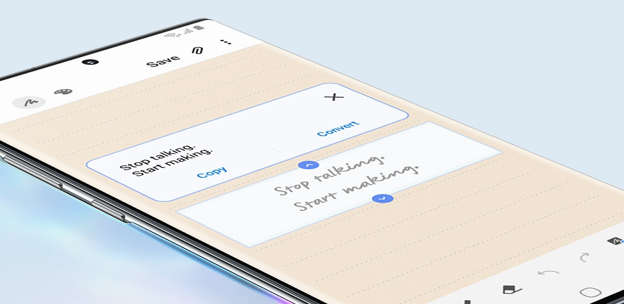 Samsung Galaxy Note10 & Note10+ - Text Export Feature