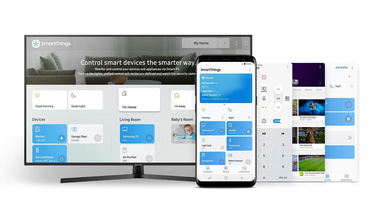 Εφαρμογή SmartThings, μόνο μία εφαρμογή για όλα