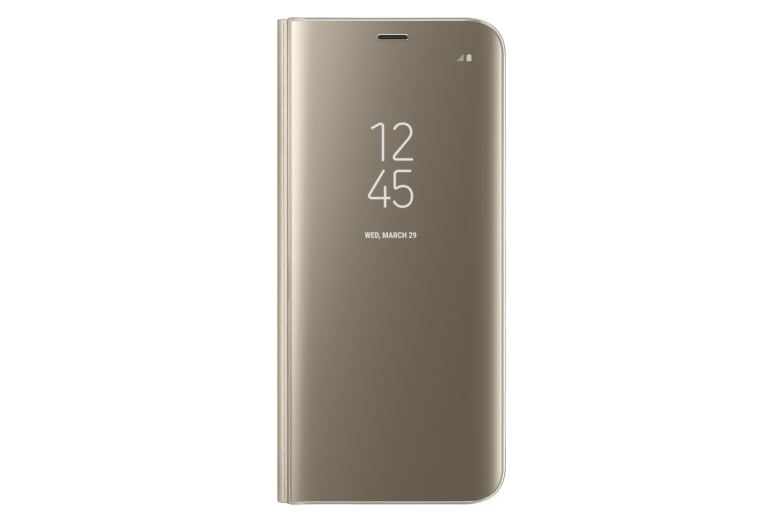 غطاء شفاف قائم لهاتف S8