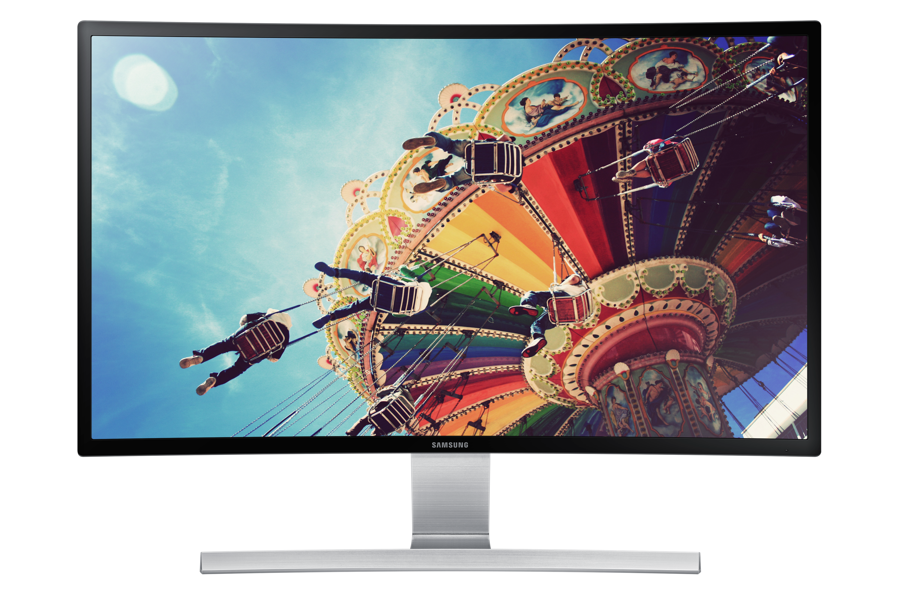 """27"""" Curved monitor with incredible picture quality"""