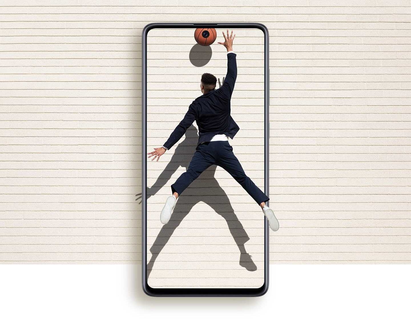 Meet the screen with a lot less bezel, and a lot more view