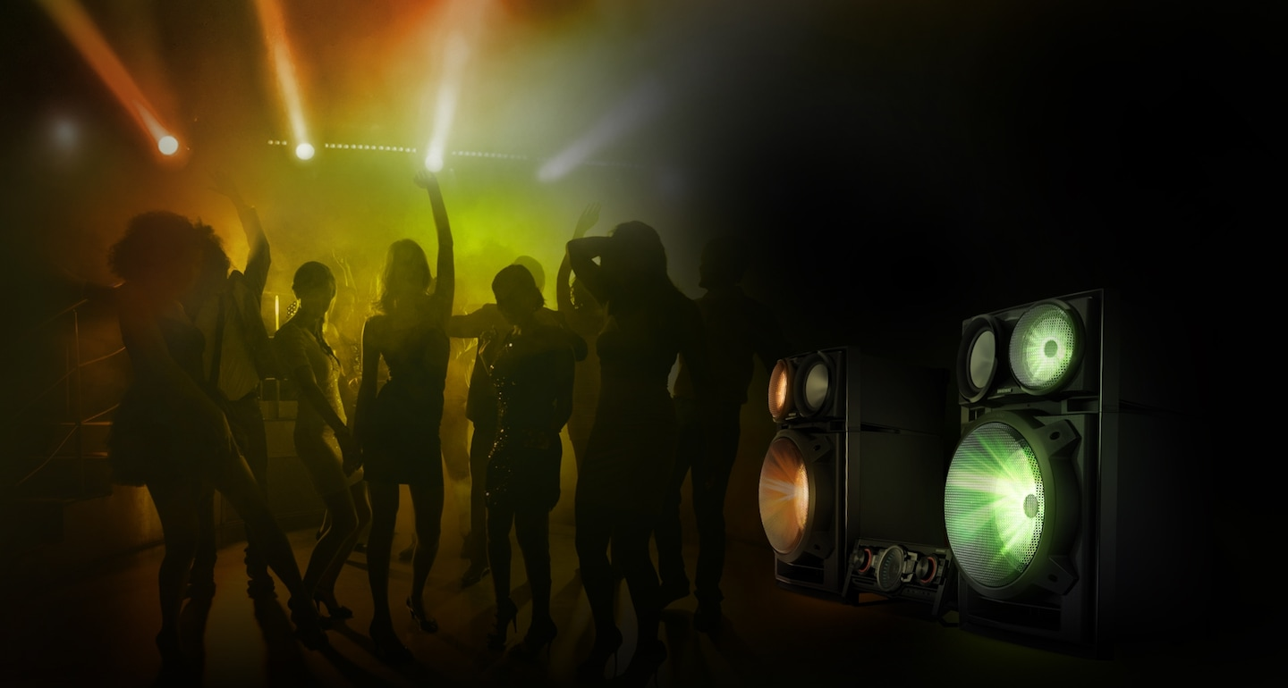 Mix lighting effects with music to take your party to the next level