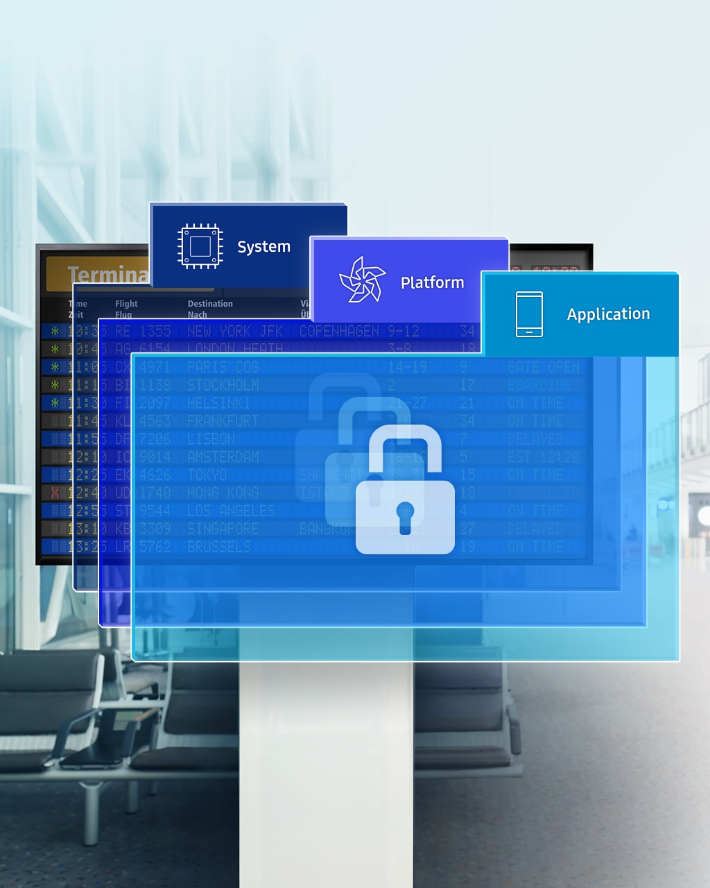 Protect Business and Customer Data through Extensive Security