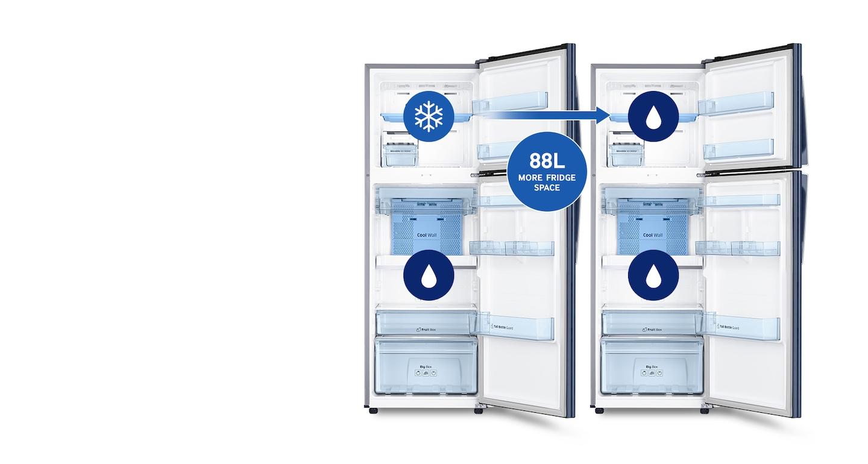Simply make more fridge space
