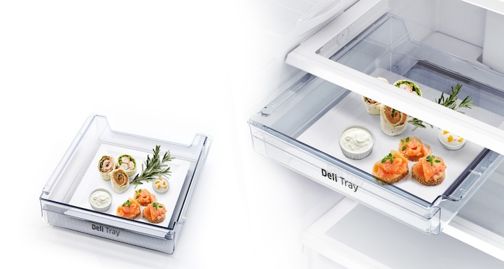 Easily organise and serve deli foods