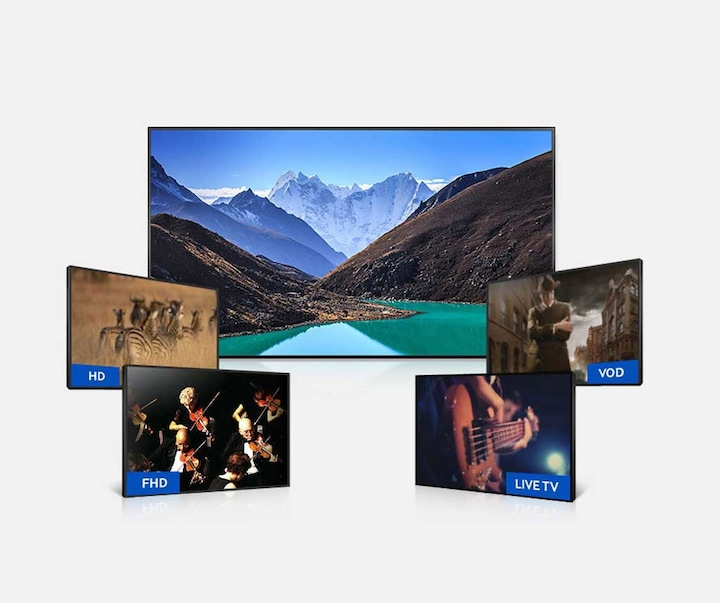 UHD upscaling enhances the quality of all of your viewing