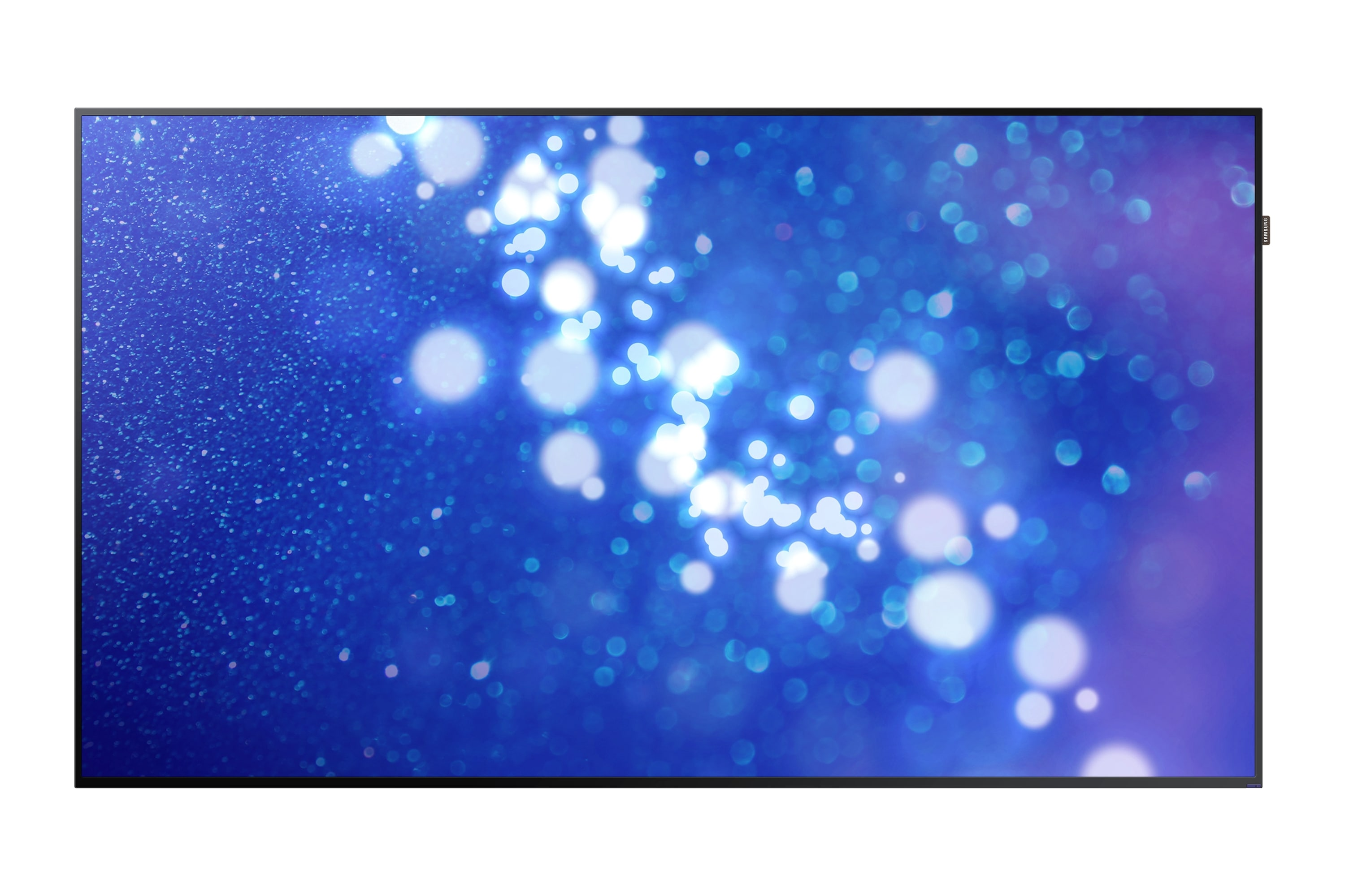 "DM-E Series 75"" Slim Direct-Lit LED Display"