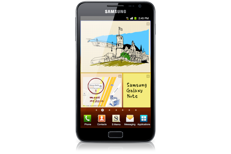 Galaxy Note N7000 Front