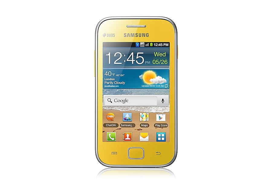 GT-S6802 Front Yellow