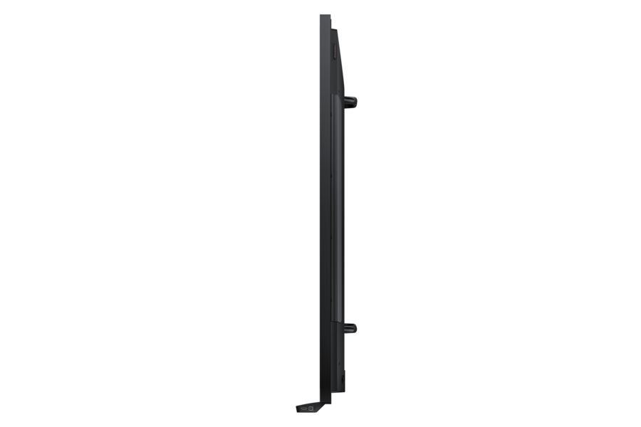 DME-BR Series 82 Edge-Lit LED E-Board Display BR Side Black