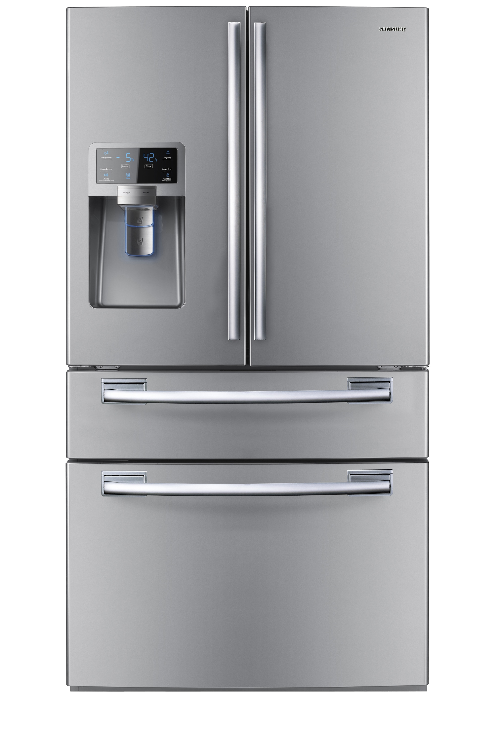 AW3 FDR with Water & Ice Dispenser, 27.7 cu. Ft., Real Stainless