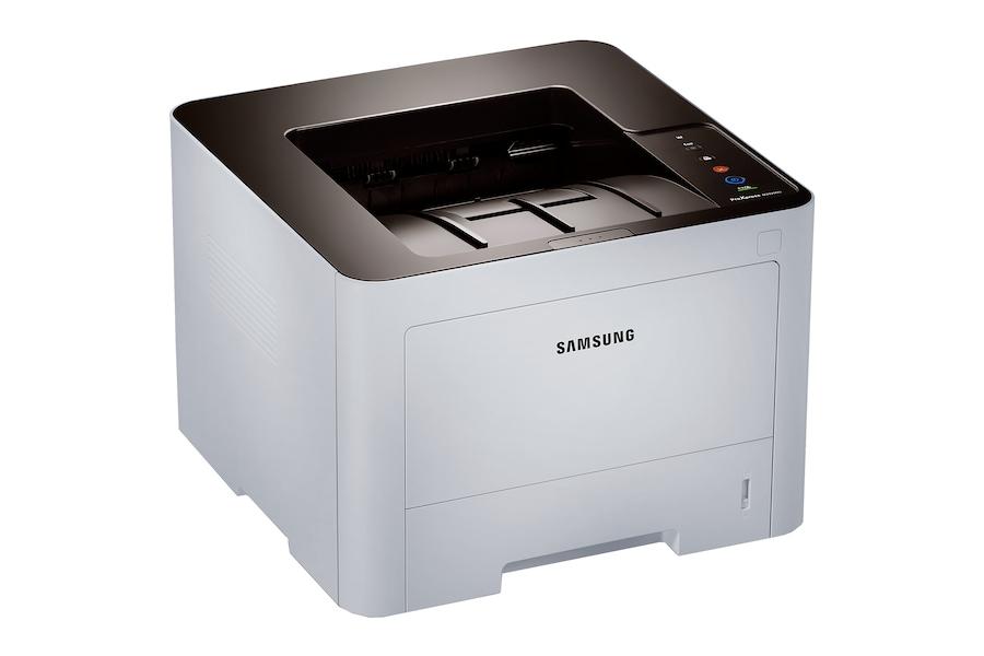 ProXpress SL-M3320ND Mono Printer (33 ppm) M3320ND Left Angle Grey