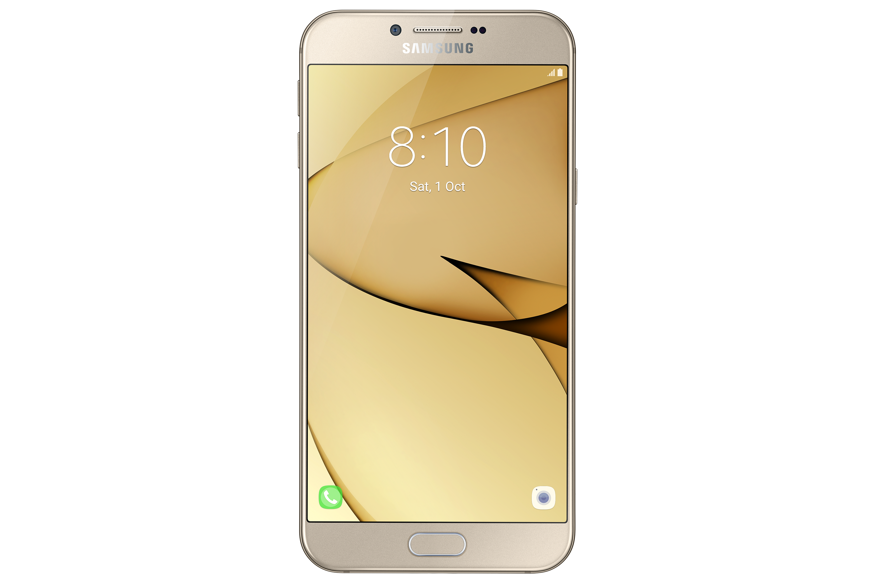 SM-A810F/DS Front Gold