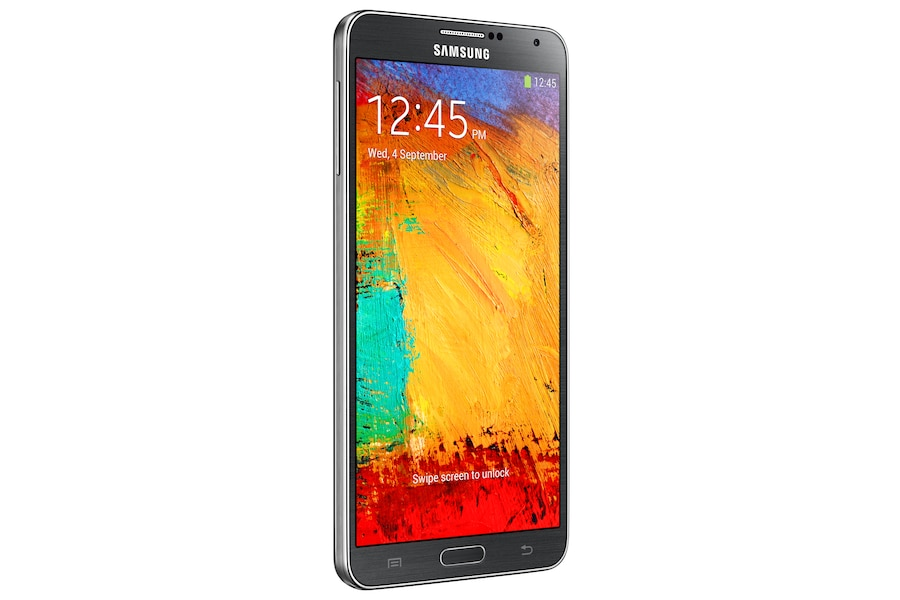 Galaxy Note 3 N900 Right Perspective Black