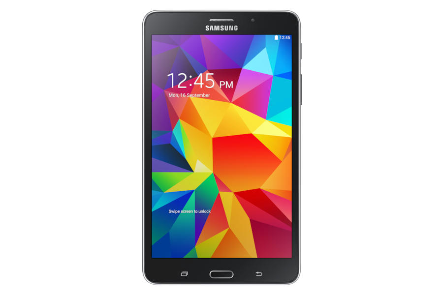 Galaxy Tab 4 (7.0, 3G)‎ T231 Front Black