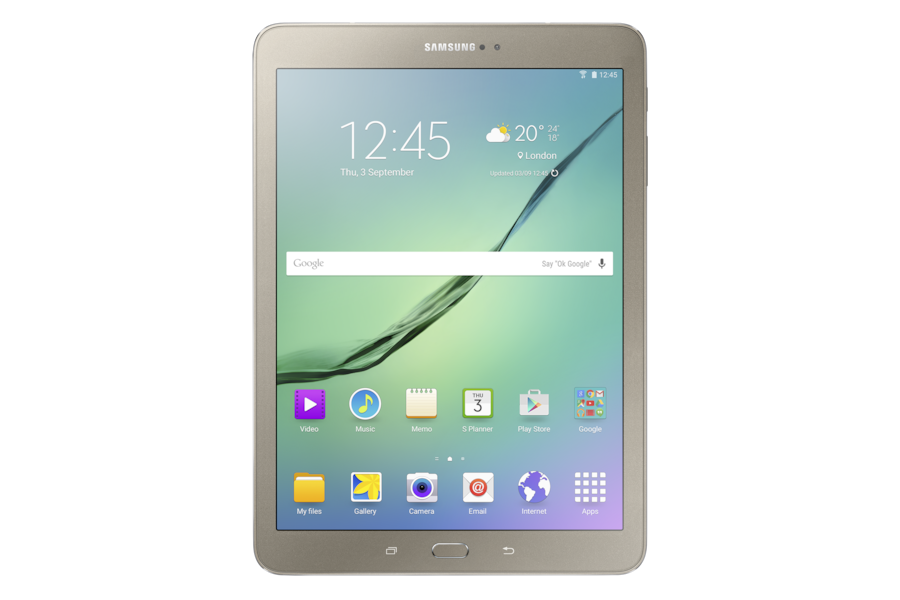 Galaxy Tab S2 (9.7, LTE) T819 Front Gold