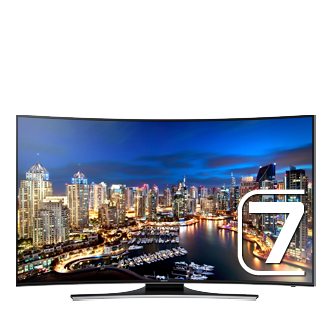 UA65HU7200R 65&quot; HU7200 Curved Ultra HD LED TV<br/>