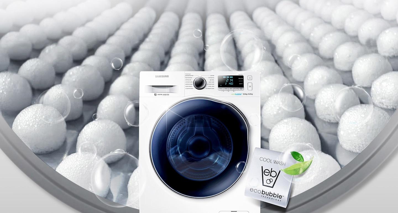 التنظيف في ماء بارد. توفير الطاقة.