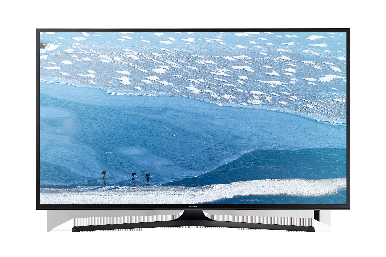 الفئة 7 من تلفزيونات UHD 4K المسطحة الذكية طراز KU7000 مع شاشة 60 بوصة