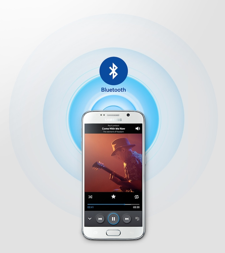 Mobile sound with Bluetooth connection