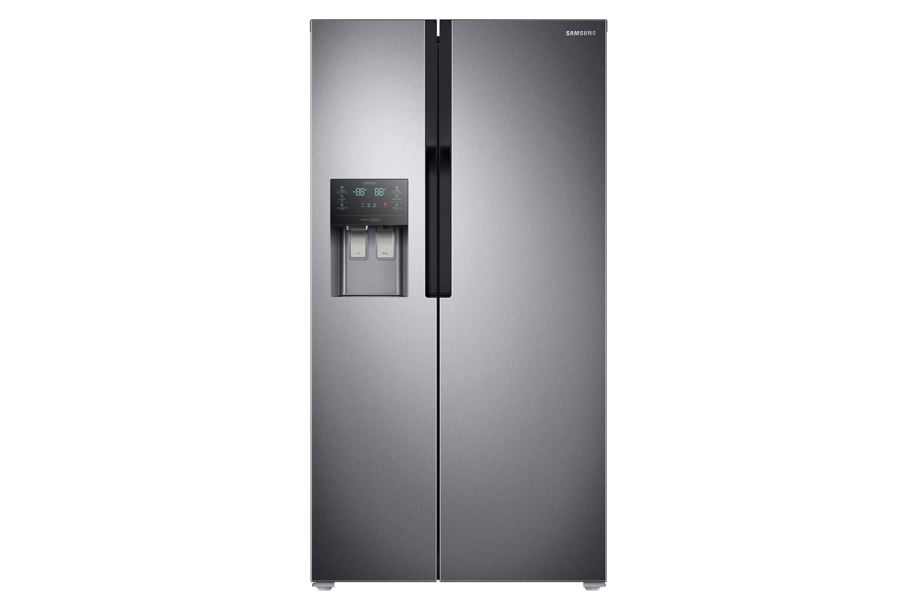 RS51K5460SL Side by Side With Auto Ice and Water Dispenser, 510 L