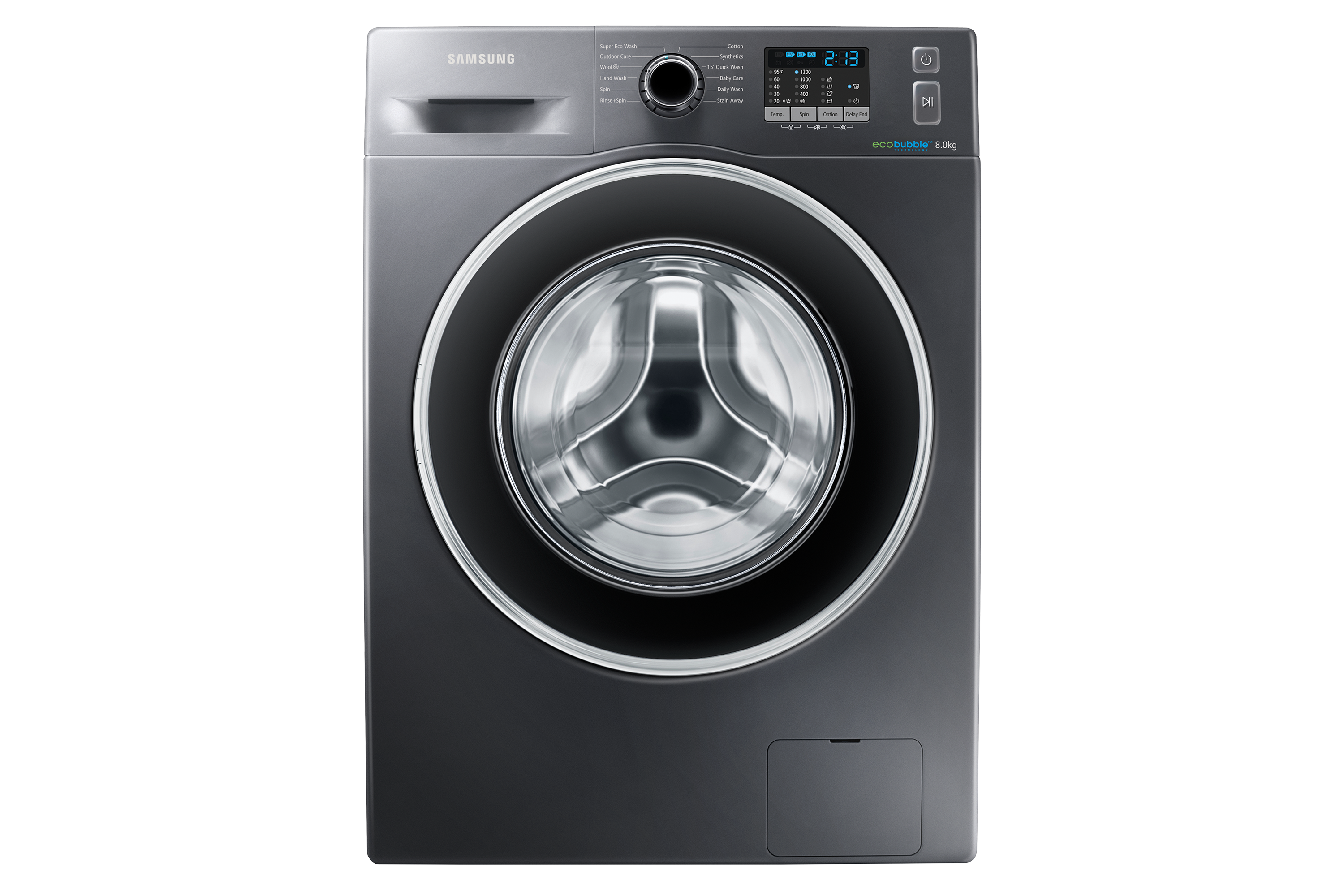 WW5000 Washer with Eco Bubble Technology, 8 kg