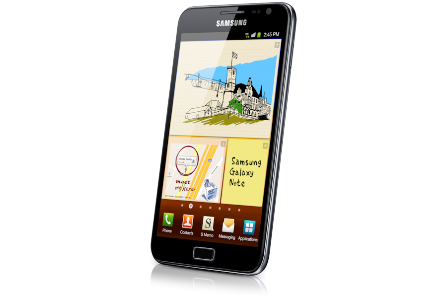 Galaxy Note N7000 Right Angle Black