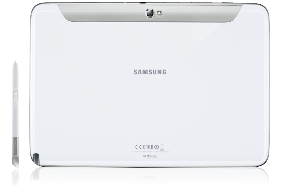 Galaxy Note (10.1, 3G) N8000 Back Pen white