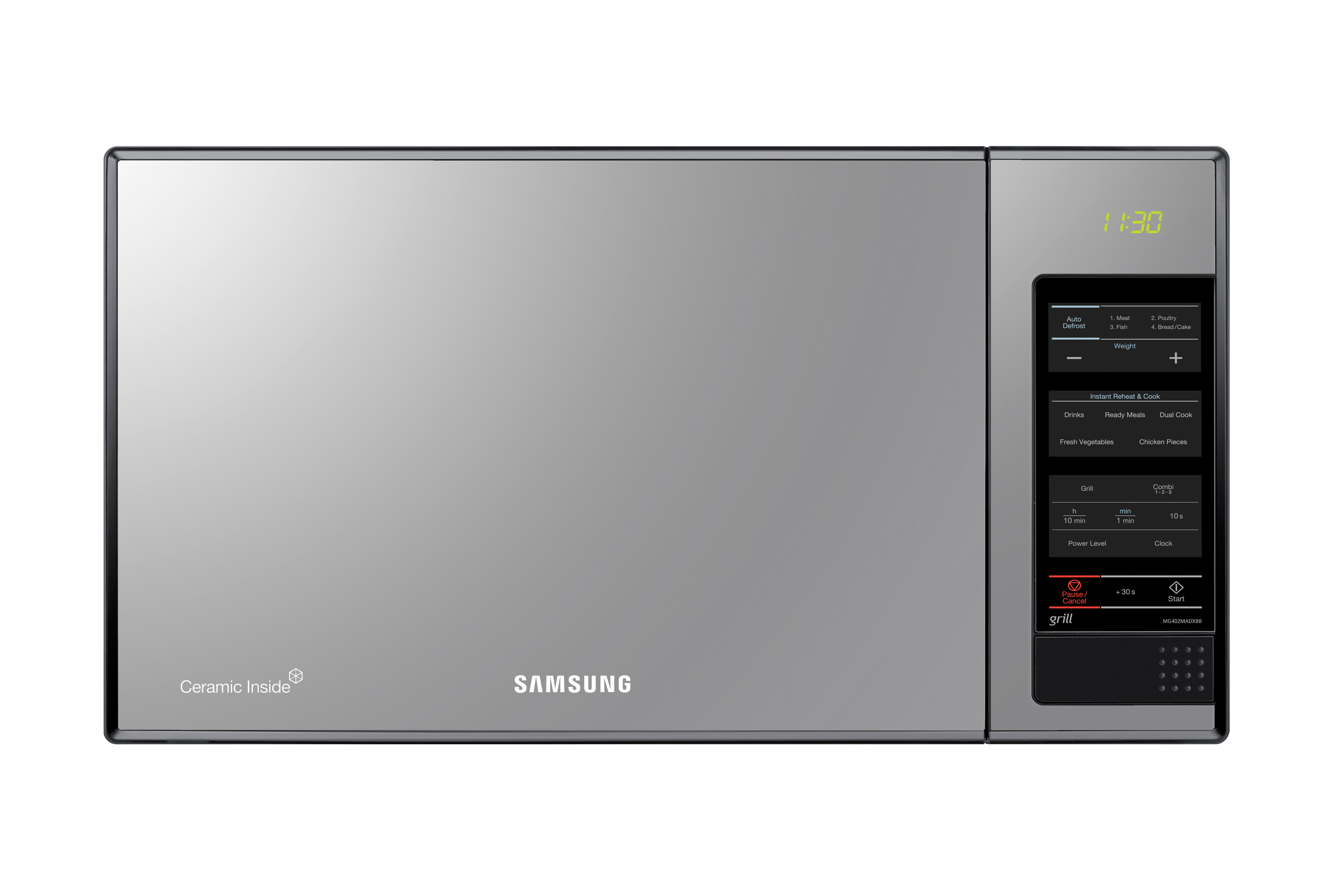 Microwave With Gl Mirror 40l