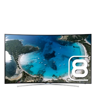65 Full HD Curved Smart TV H8000 Series 8