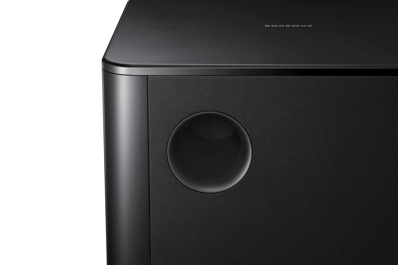 HW-F750 Detail Speaker Noir