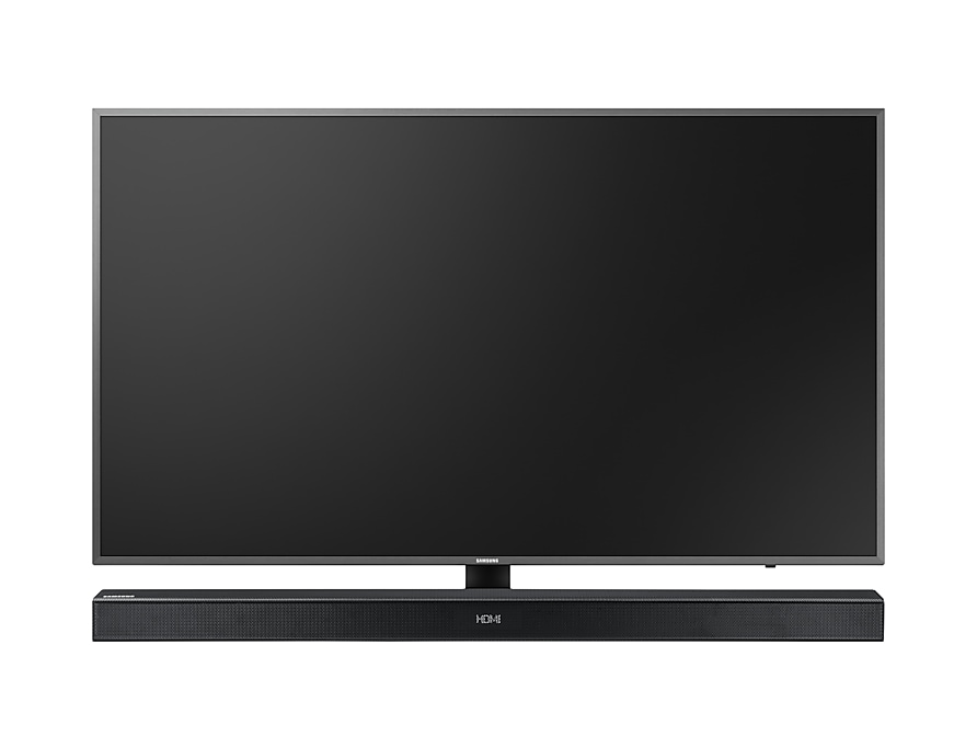 With Tv Front Black