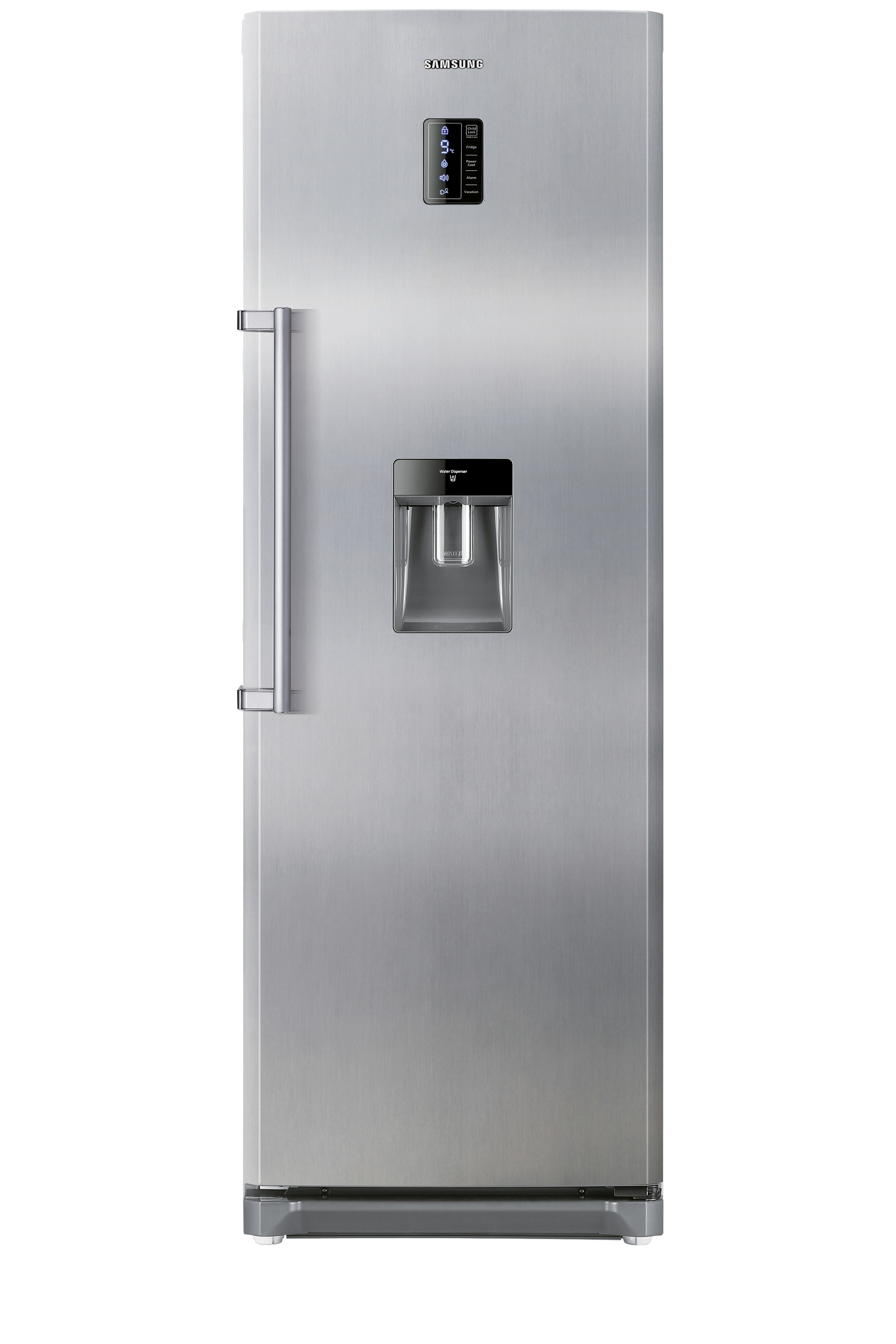 TWIN 1 Door with Easy Bar Handle, 348 L, INOX