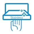 Stainless Trim shelf
