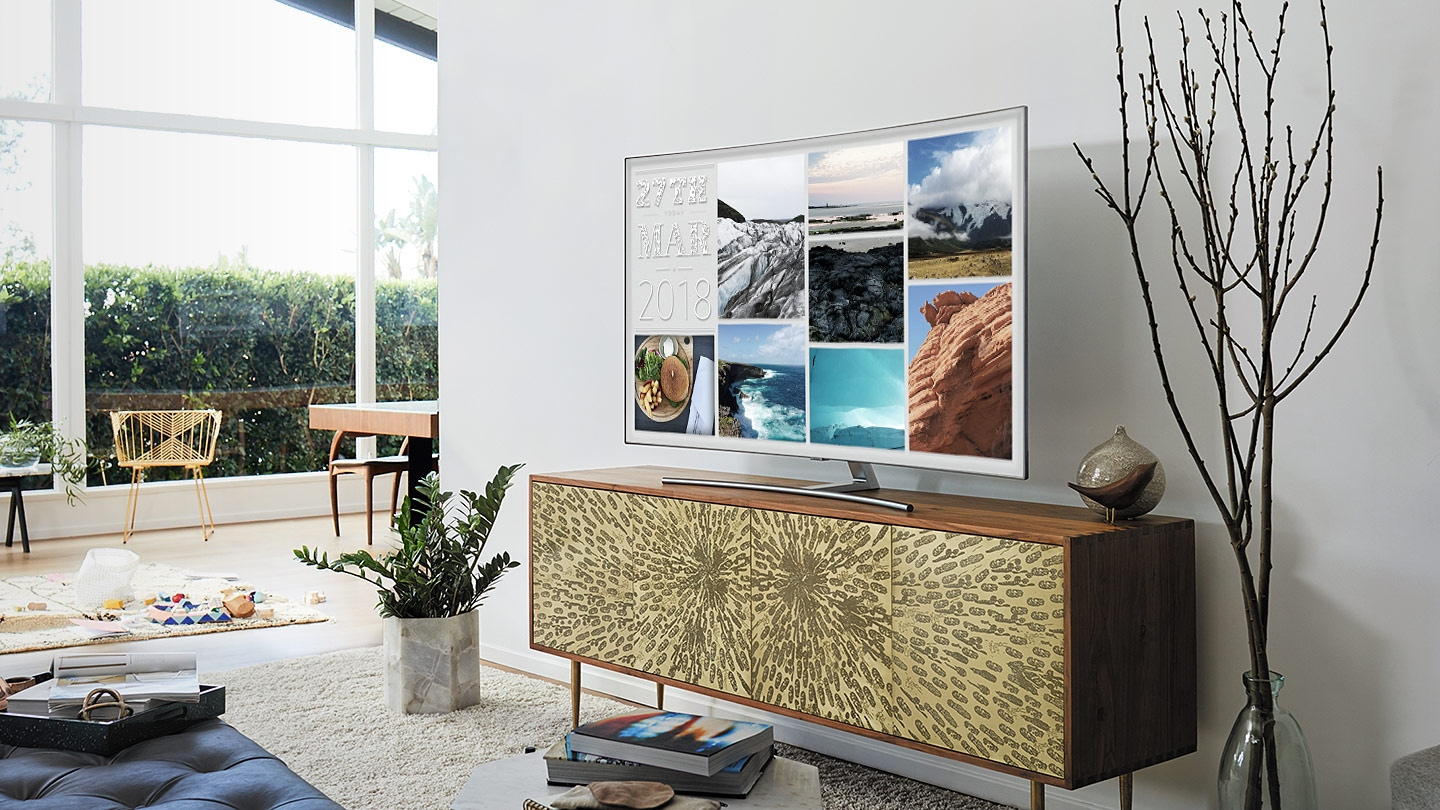 See the picture, not the TV