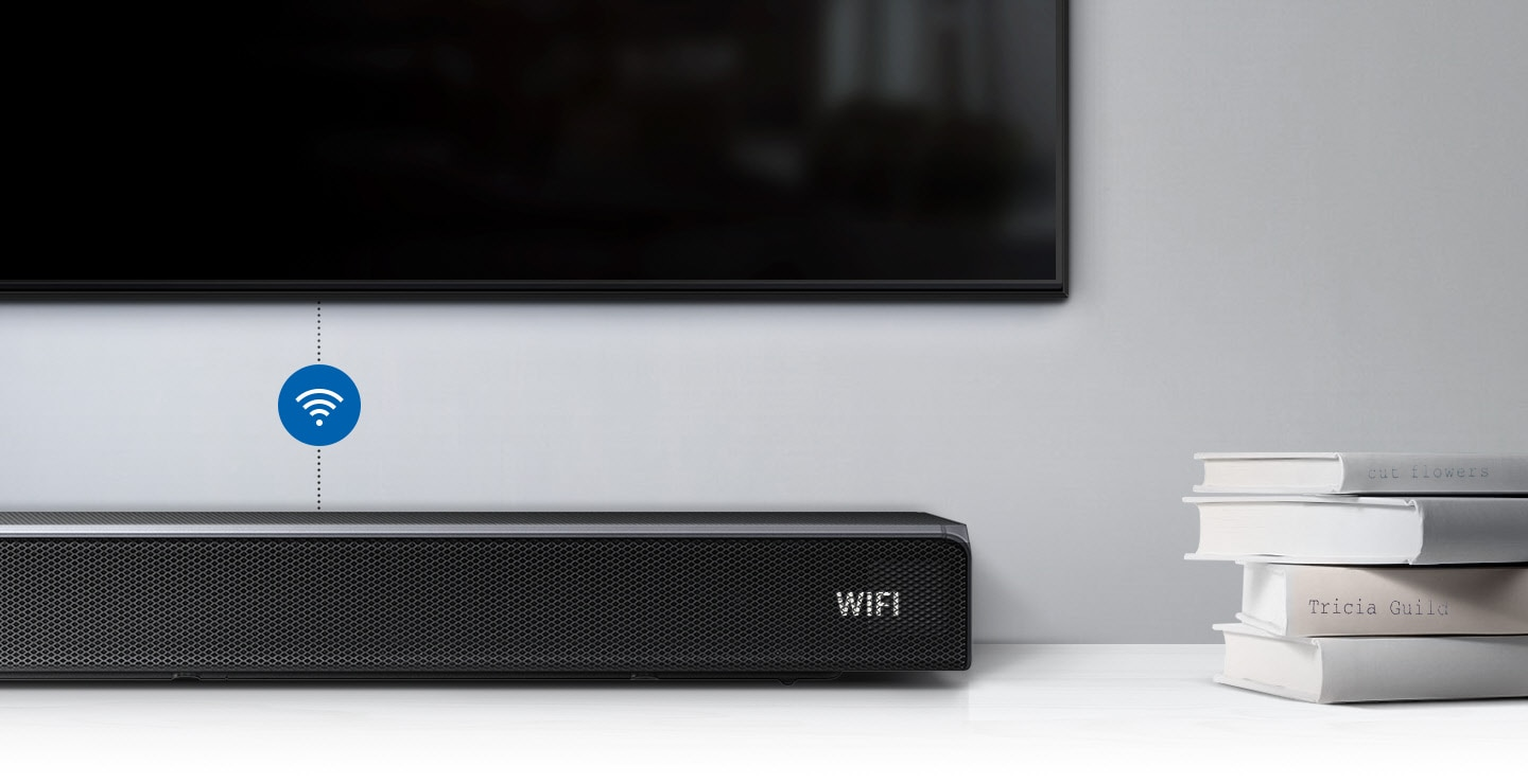 Wireless connection with TV