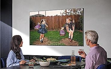 TV na mobília