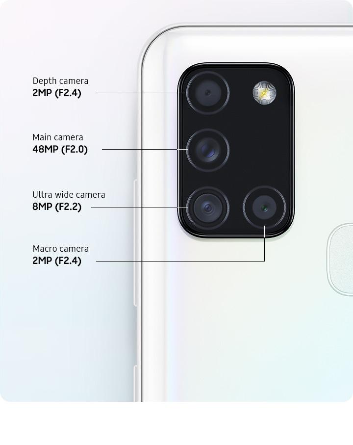 Un quadruple appareil photo exceptionnel pour capturer plus