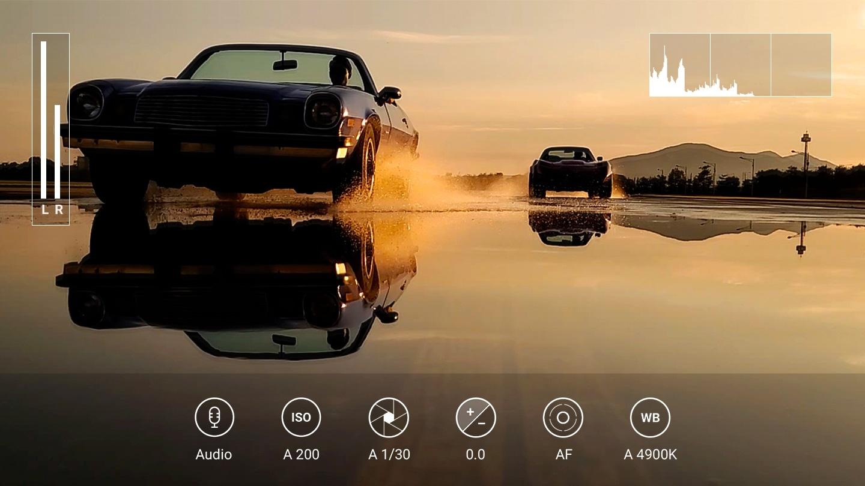 Toujours la meilleure résolution d'enregistrement vidéo disponible sur smartphone