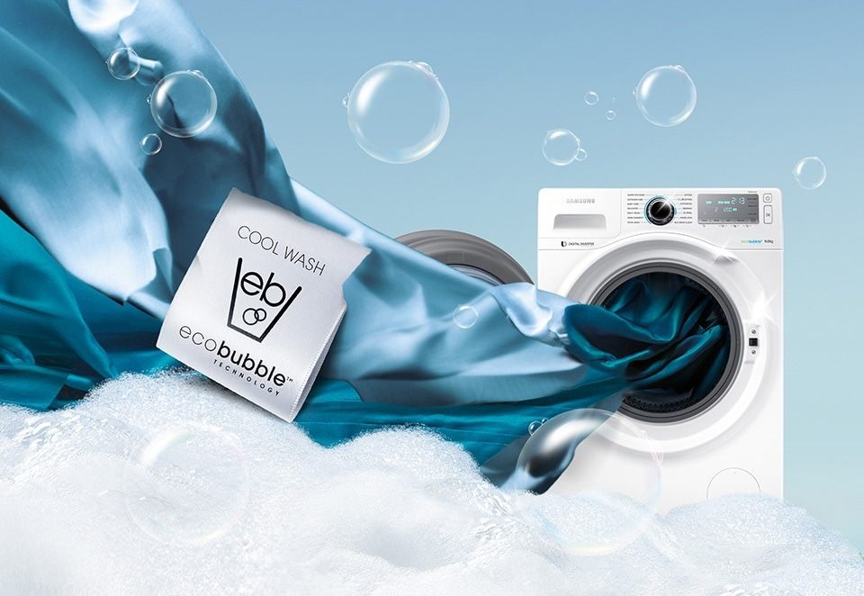 Wash cool. Poupe energia