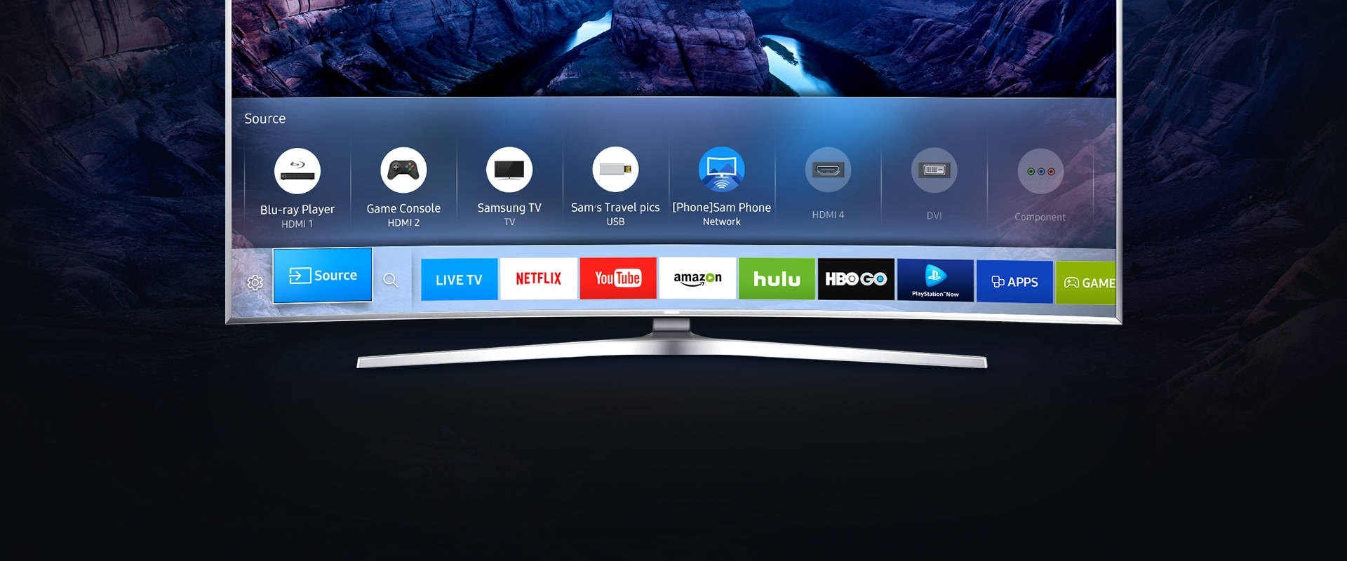 Watch content from your Samsung Smart TV