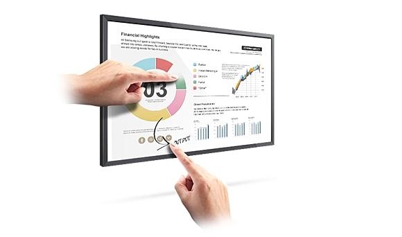 Involucrá tus espectadores con la opción táctil interactiva Módulo Overlay