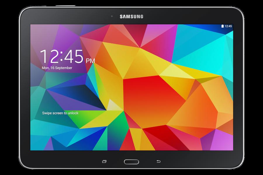 Galaxy Tab 4 (10.1, 3G) T531 Parte Delantera Negro