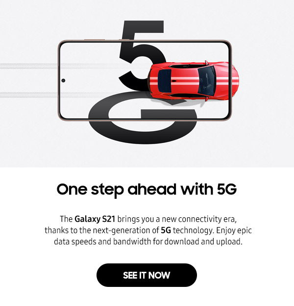 One step ahead with 5G