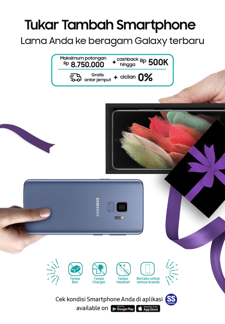 Mobile Trade In Program And Offer Samsung Indonesia