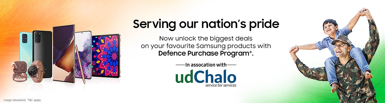 Samsung Defence Purchase Program