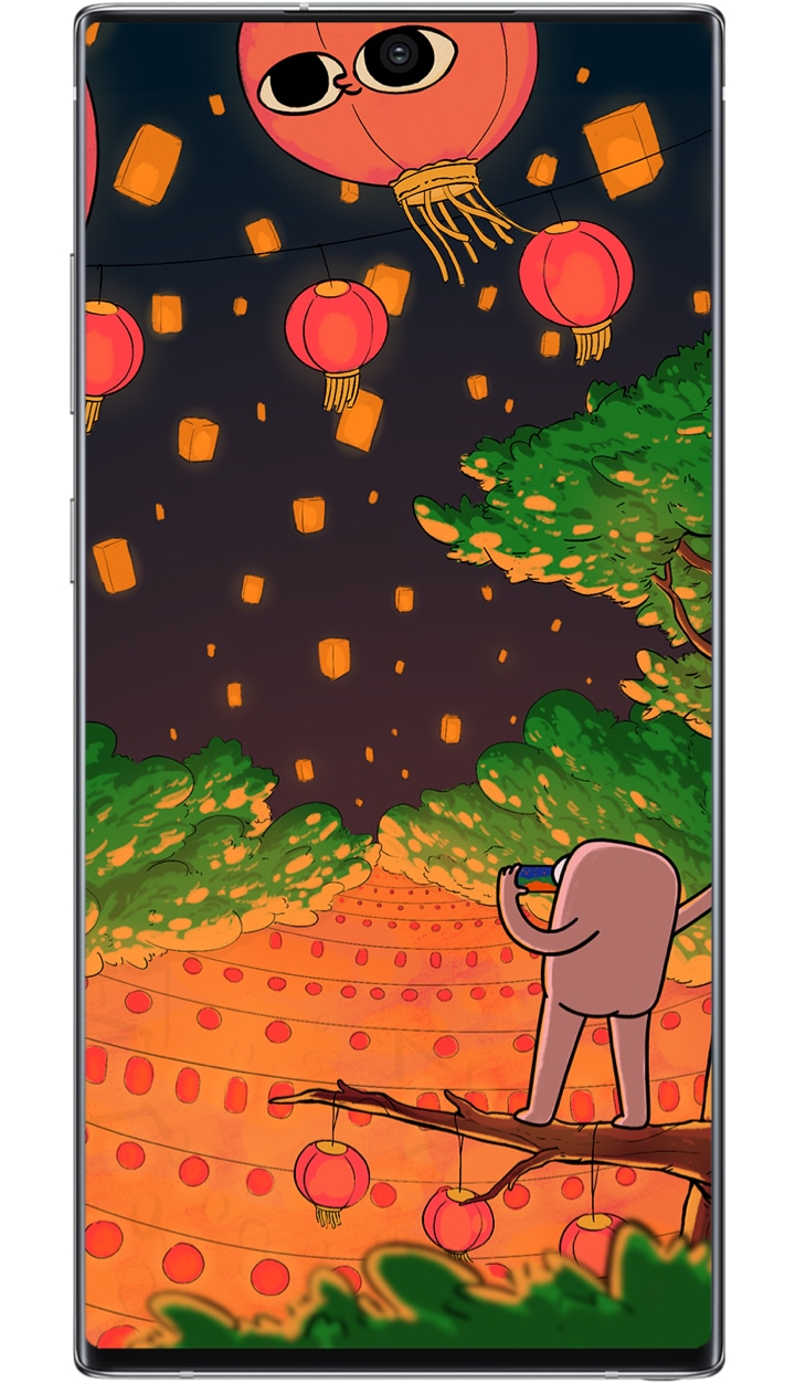 Artists Creating Cool Wallpapers For Your Phone Samsung India