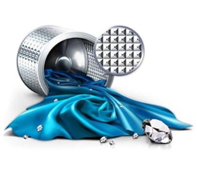 Diamond Drum of Samsung Washing Machine.